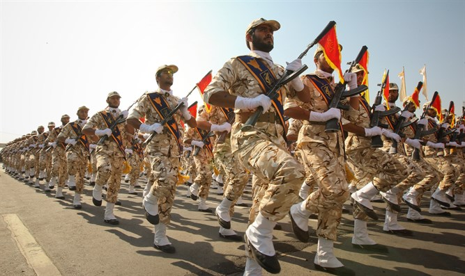 Members of the Iranian Revolutionary Guard