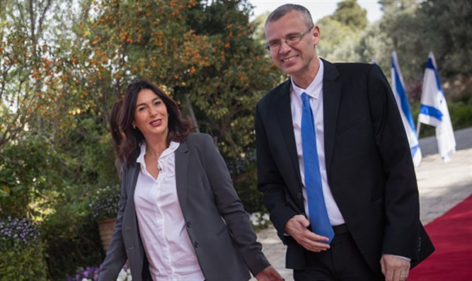 Yariv Levin and Miri Regev