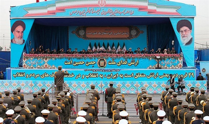 National Army Day parade in Tehran
