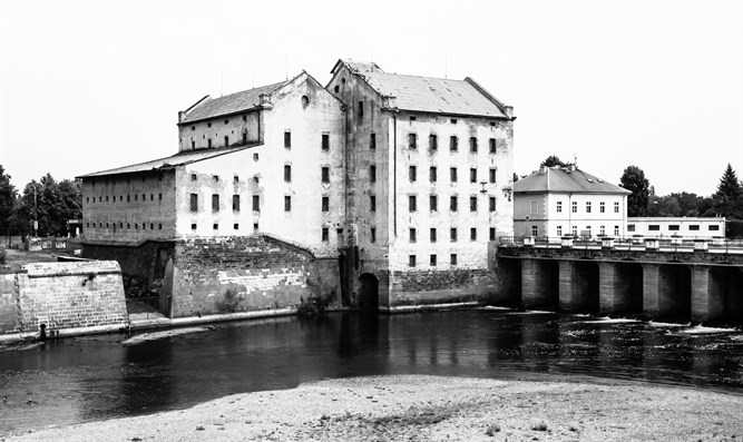 Theresienstadt's old mill