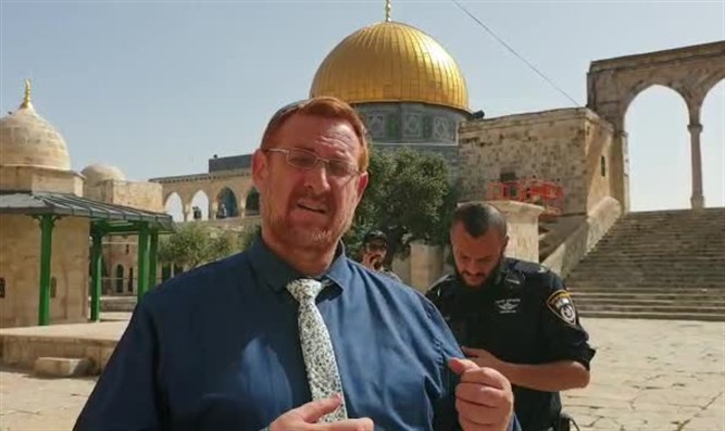 Glick on Temple Mount
