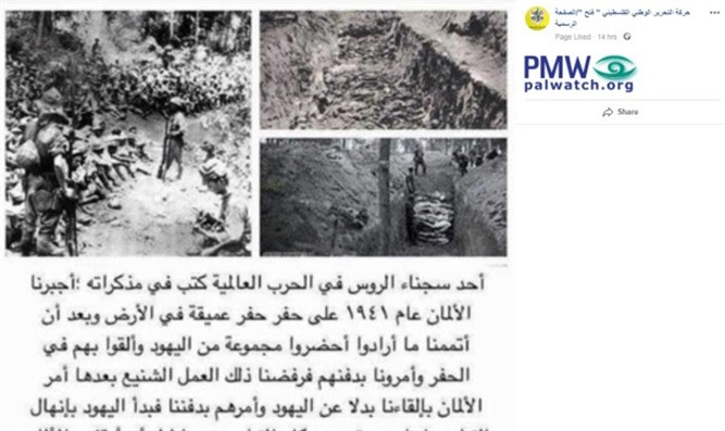 Fatah's explanation for why Jews were murdered during the Holocaust