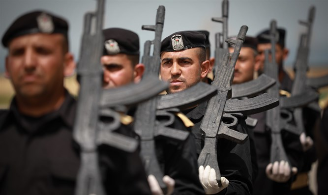 Hamas ceremony, Gaza