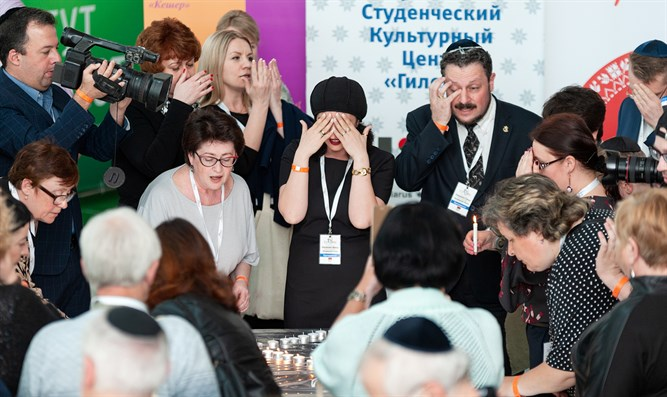Belarus Jews honor shooting victim