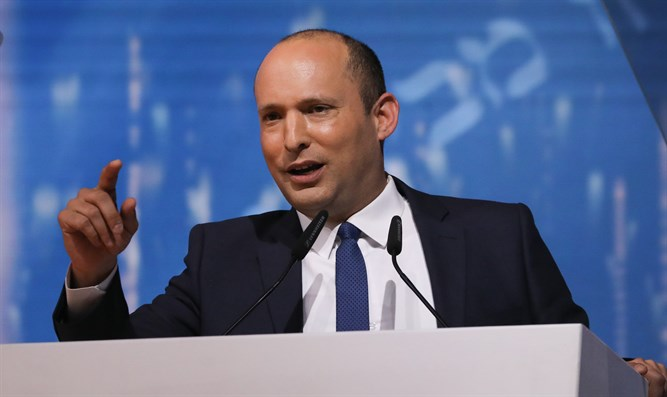 Bennett at Israel Prize ceremony