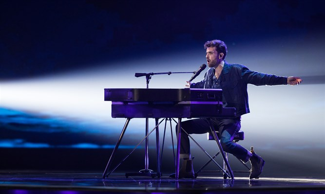 Duncan Laurence of the Netherlands, winner of the 2019 eurovision