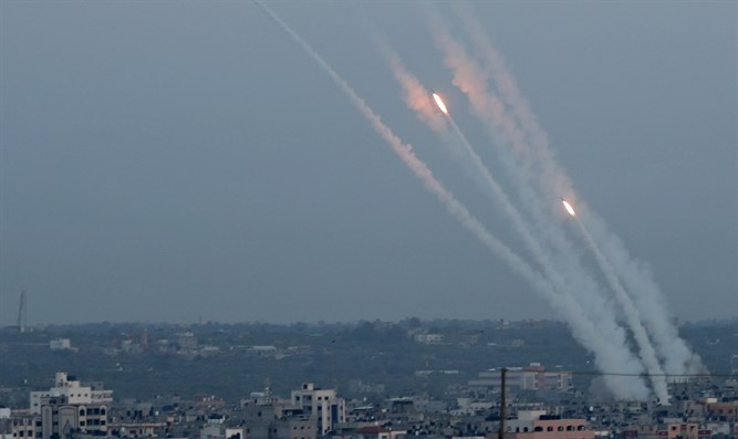 Rockets from Gaza