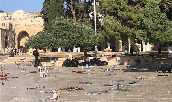 Riots on Temple Mount