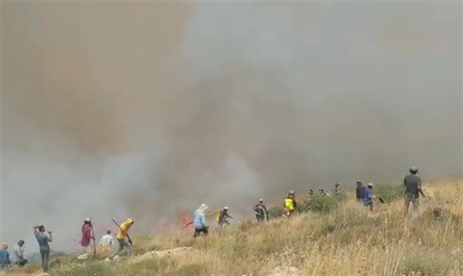 Fire in Samaria