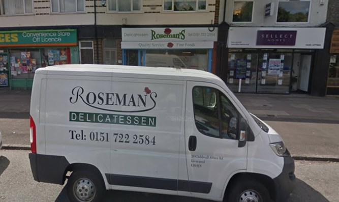 Roseman's Delicatessen in Liverpool