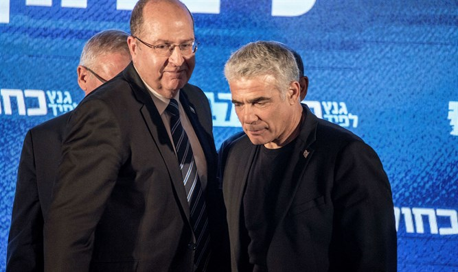 Lapid and Ya'alon