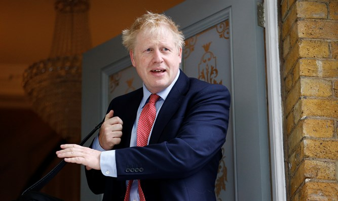 PM hopeful Boris Johnson leaves his home in London