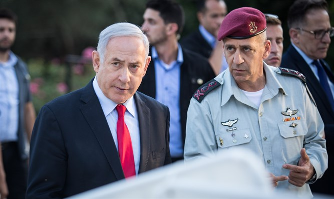 PM Netanyahu and Chief of Staff Kochavi