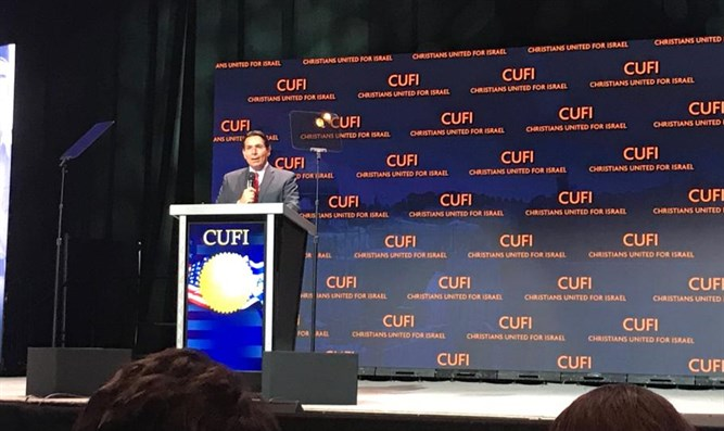 Danny Danon at CUFI summit