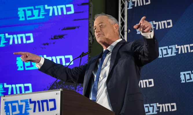 Benny Gantz at Kiryat Ono event, August 7th, 2019