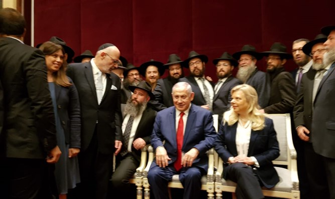 Netanyahu meets Kiev Jewish leaders