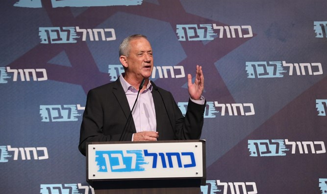 Blue and White's Benny Gantz