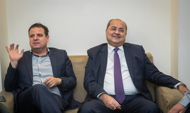 Ayman Odeh and Ahmed Tibi