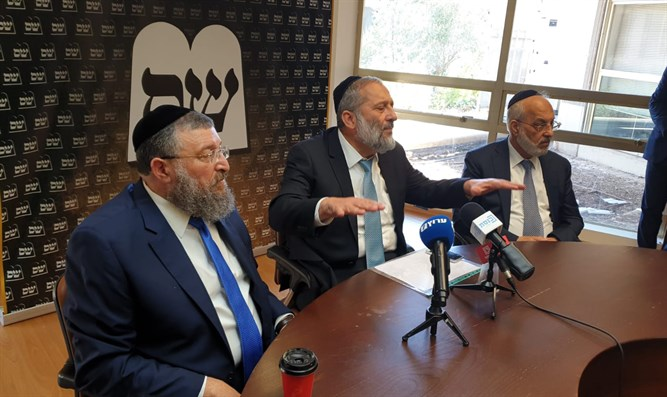 Deri: We support Netanyahu but want broad government