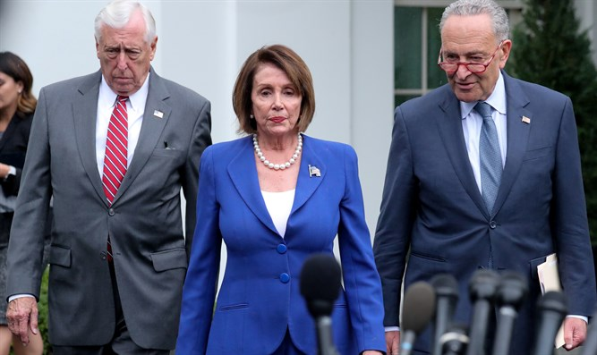 Steny Hoyer, Nancy Pelosi and Chuck Schumer