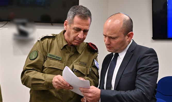 Bennett at the Defense Ministry