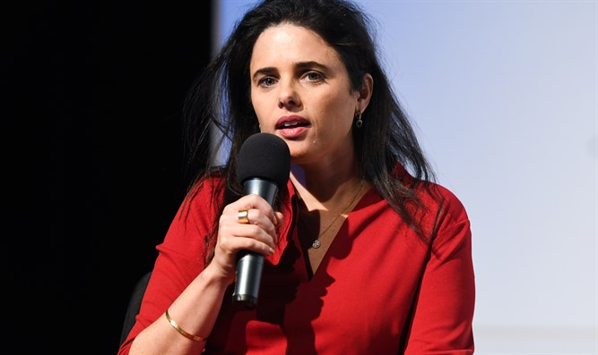 Shaked: Netanyahu is the leader of the Likud, not the right - Inside Israel