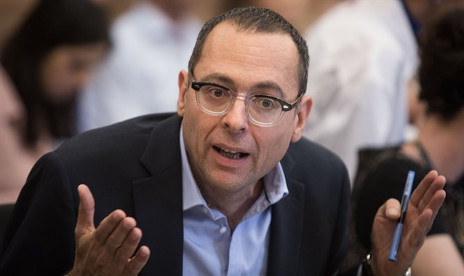 Blue and White tells MK Hauser: 'Existential difference between us and leftist parties'