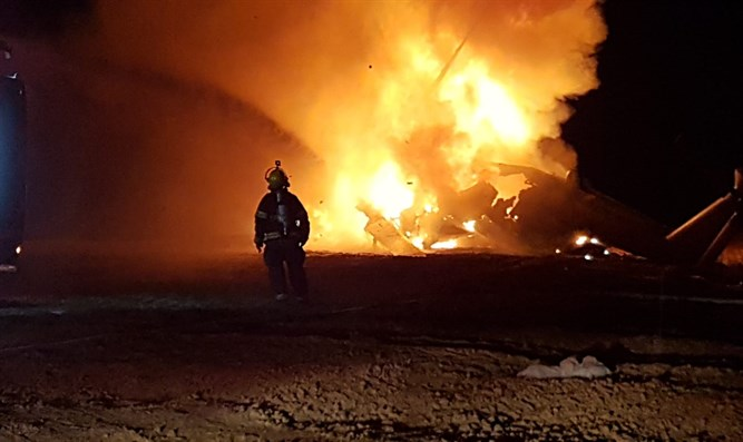 Cause of IDF helicopter fire revealed