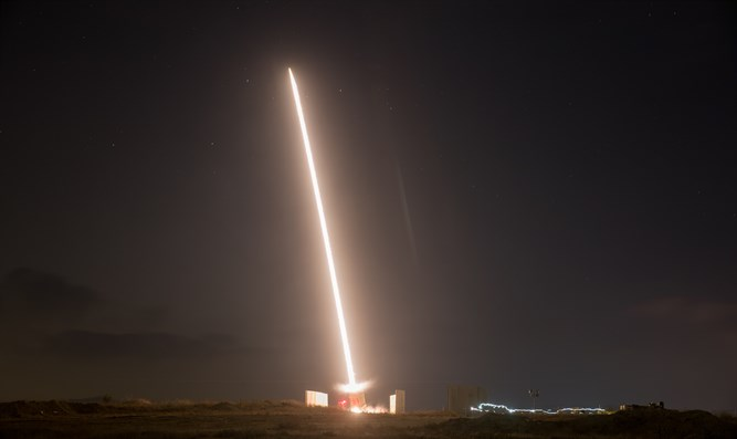 Iron Dome intercept