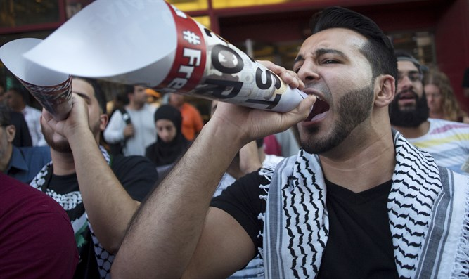 Gaza rally in Times Square: 'We'll start an Intifada in every classroom, college campus'