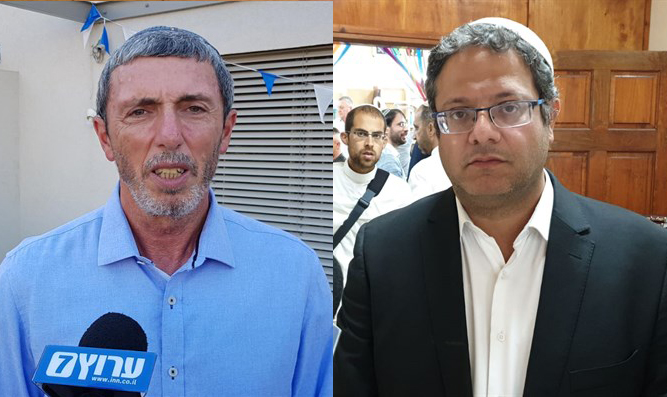 Rafi Peretz (left) and Itamar Ben-Gvir (right)
