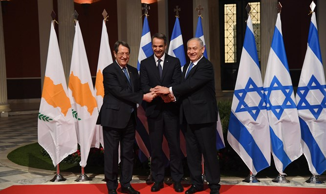 Leaders of Israel, Cyprus, and Greece meet to sign EastMed deal