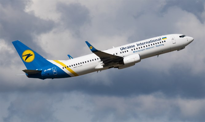 Ukraine International Airlines airplane