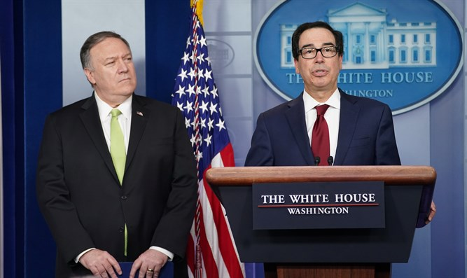 Mike Pompeo and Steven Mnuchin announce new sanctions on Iran