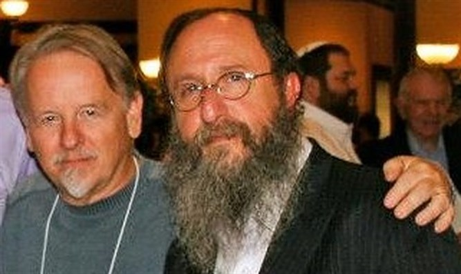 Rabbi Chaim Richman and Jim Long