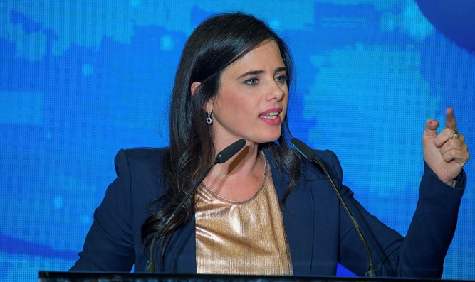 Shaked: 'There's no unity - it's either right or left' - Inside Israel