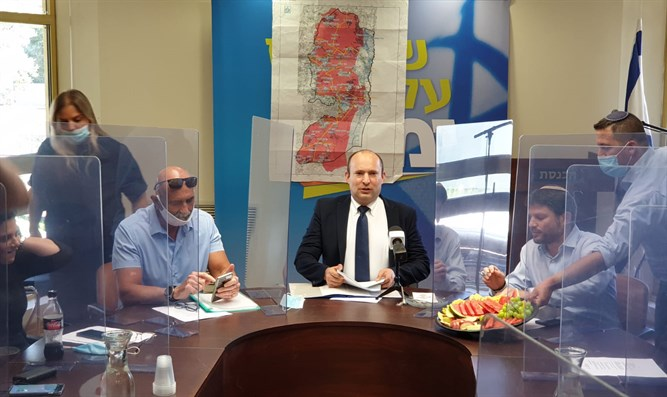 Naftali Bennett: Creation of a terror state is an existential disaster - Inside Israel