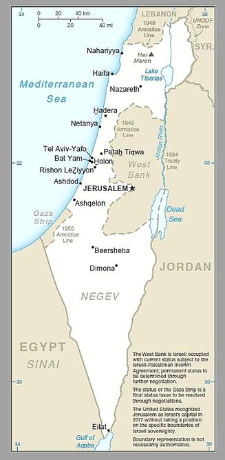 US int'l maps include Golan Heights as part of Israel