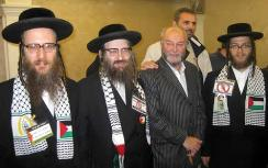Neturei Karta with British MP George Galloway