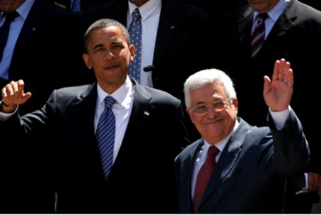 Pres.Obama and Chairman Abbas