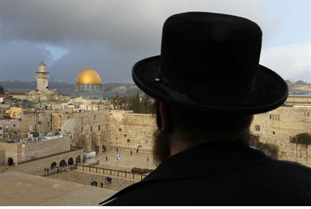 Overlooking the Temple Mount