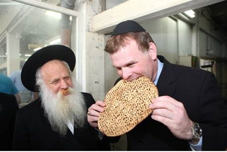 Canadian Foreign Minister John Baird at Kfar