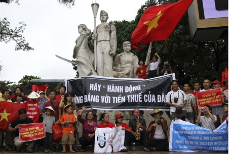 Anti Chinese Demonstration