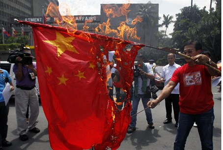 Anti-China demonstration
