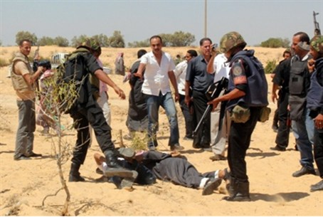 Egyptian security forces arrest suspected ter