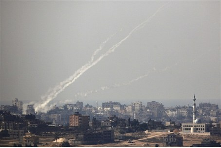 Rockets fired from Gaza