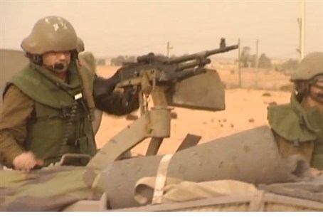 IDF reservist prepares in Pillar of Defense