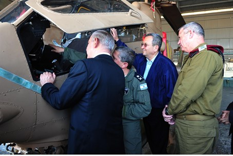 Visit to the IAF base in Palmahim