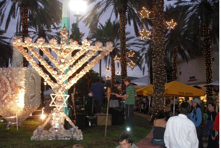 Menorah in Miami