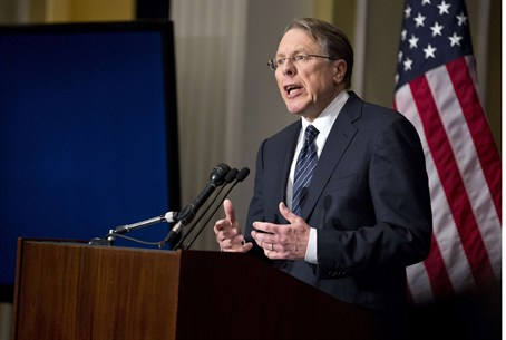 Wayne LaPierre, executive vice president of t